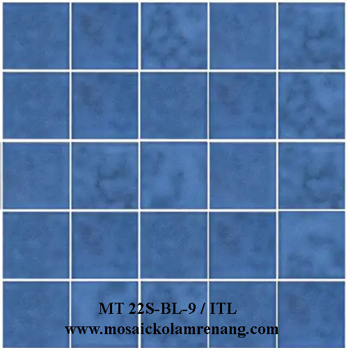 Mosaic COTTO Type MT 22S-BL-9/ITL