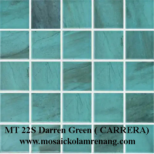 Mosaic Cotto tipe carrera green