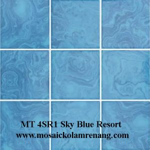 Mosaic COTTO Type 4SR Sky Blue Resort