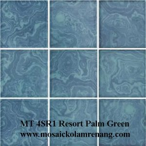 Mosaic COTTO Type MT 4SR1 Resosrt Palm Green